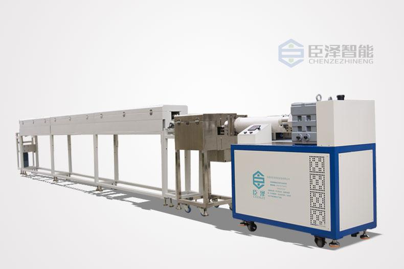 <strong>卧式单色硅胶挤出生产线_单色卧式硅胶挤出生产设备</strong>