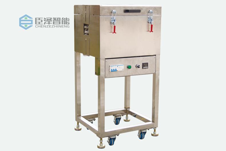 立式单色硅胶挤出生产线之高温定型炉