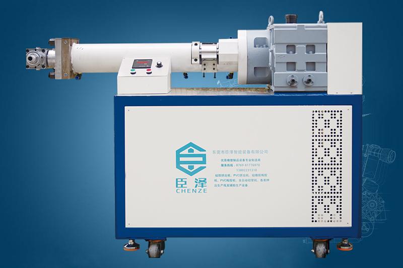 臣泽:硅胶挤出机生产工艺及操作流程详述