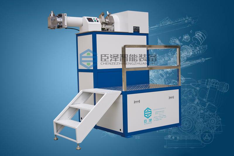 硅胶挤出机的分类,及臣泽螺杆式硅胶挤出机的应用