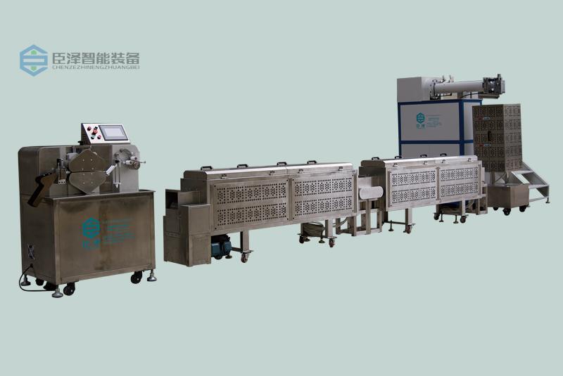 东莞硅胶挤出机的挤出成型生产流程介绍