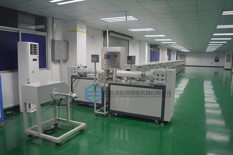 硅胶密封条生产线的组成设备介绍_东莞臣泽智能