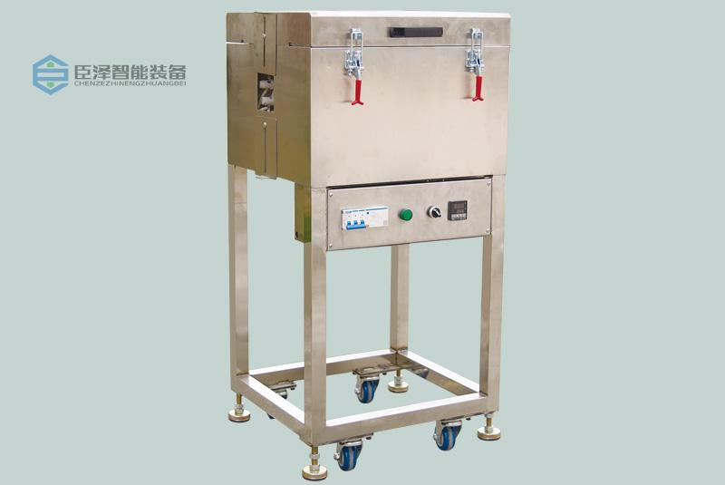 LED软灯带硅胶挤出生产线之立式高温定型炉_高温定型烤箱